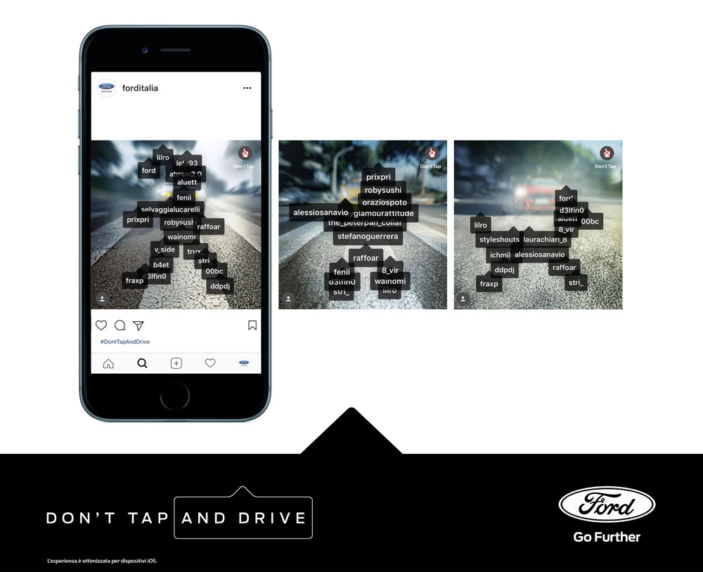 don't tap and drive